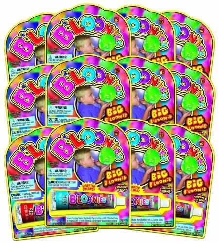 JaRu Bloonies Big Tube Party Favor Bundle Pack