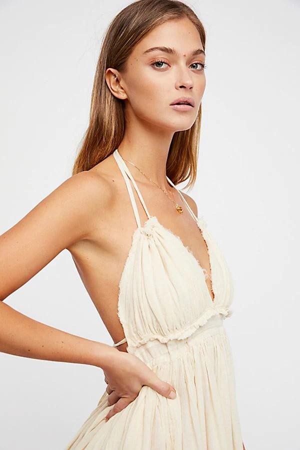 off white sundress