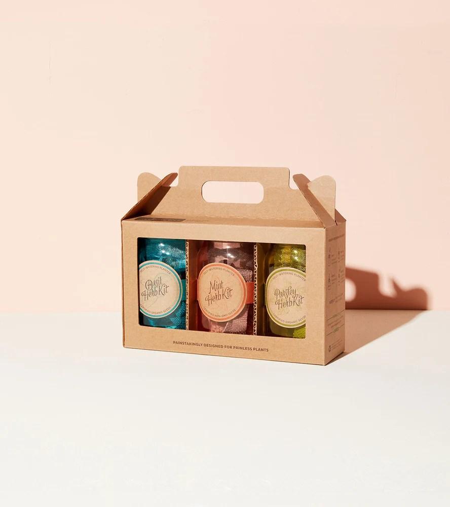 kitchen herb kit built in soap dispenser for sink garden jar modern sprout quantity
