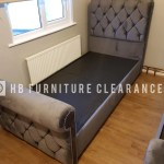 Chesterfield Sleigh Beds All Sizes Available Hb Furniture Clearance