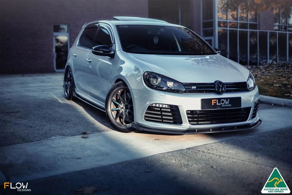 Buy VW MK6 Golf R Front Splitter V3 | Flow Designs Australia