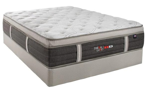 theraluxe hd olympic pillow top mattress by therapedic the mattress doctor