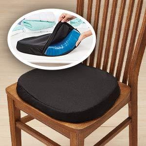 Egg Sitter Gel Seat Cushion - Incredibly Flexible Honeycomb Seat Cushion