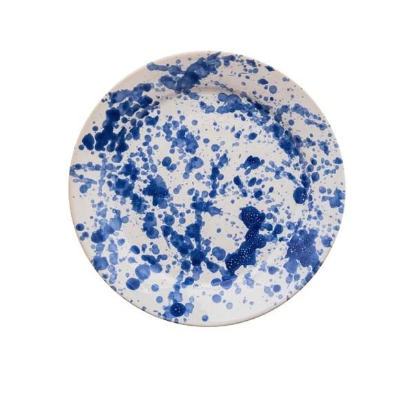 blue speckled ceramic large