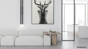 zoom background minimalist living amazing
