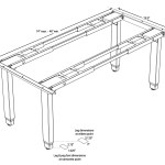 Building An Adjustable Height Sewing Workstation Handmade By Tighe Flanagan