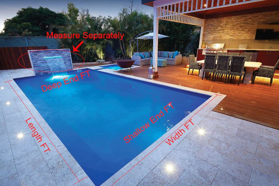 swimming pool tile calculator mosaic