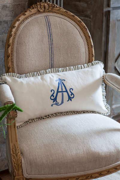 luxury collection stitched monogram
