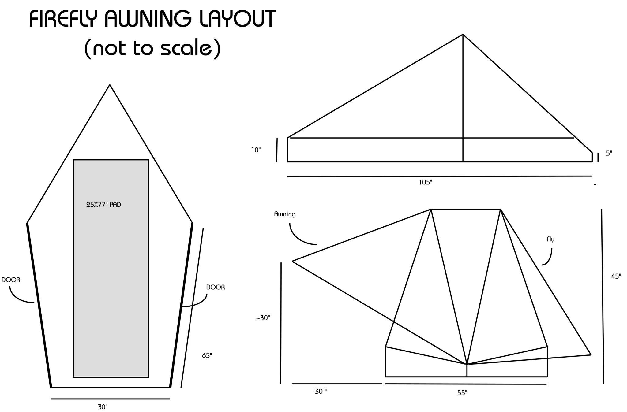 medium resolution of  lightheart firefly awning tent