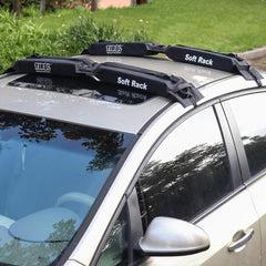 universal kayak soft pads roof rack 2 set 120cm