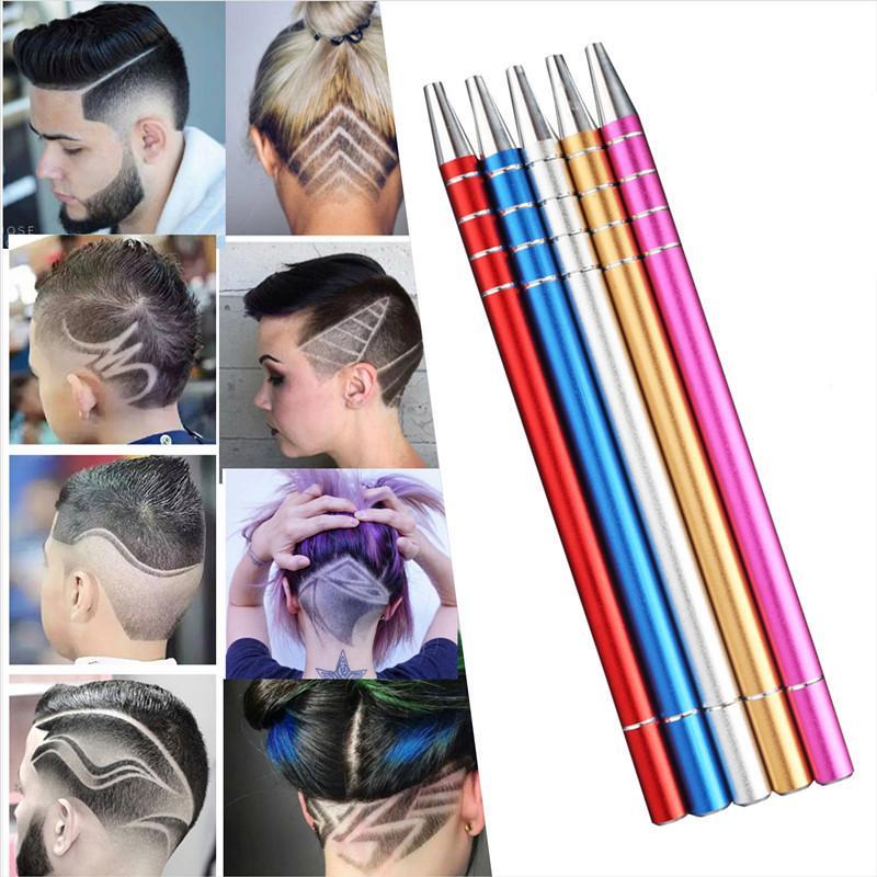 artistic hair design razor pen