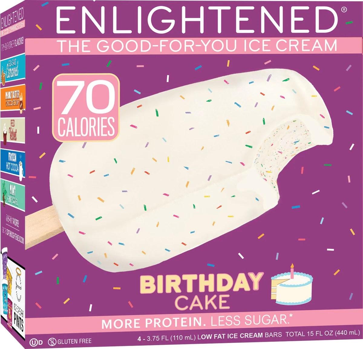 Birthday Cake Ice Cream Bars Enlightened Enlightened Ice Cream
