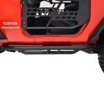 Side Steps Armor For 07 17 Jeep Wrangler Jk 2 Door Truckoffroad
