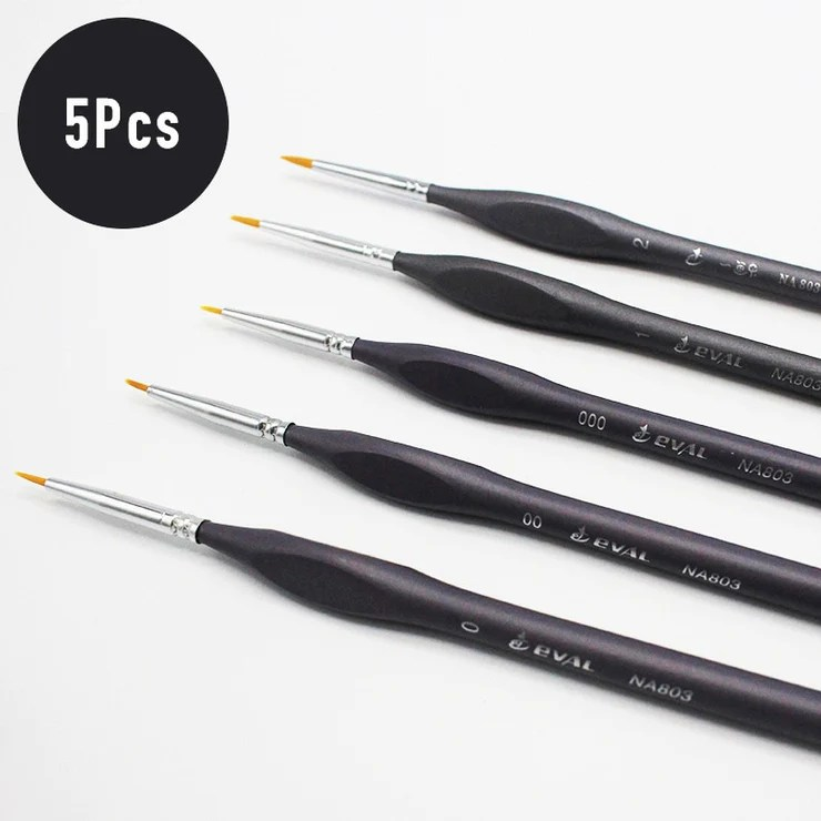 paint brush set for