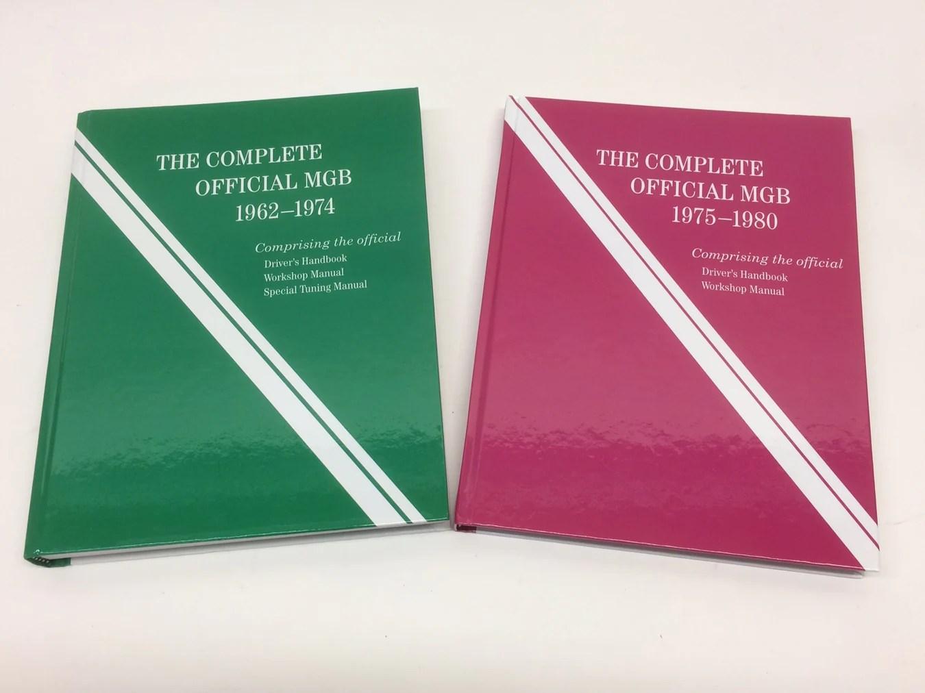 medium resolution of mgb workshop manuals