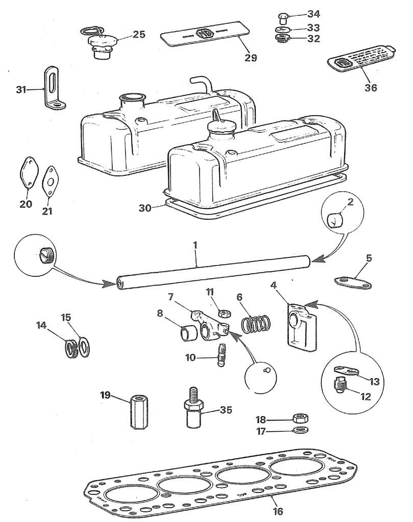 medium resolution of mgb engine parts diagram wiring diagram general 1980 mgb engine diagram mgb cylinder head abingdon spares