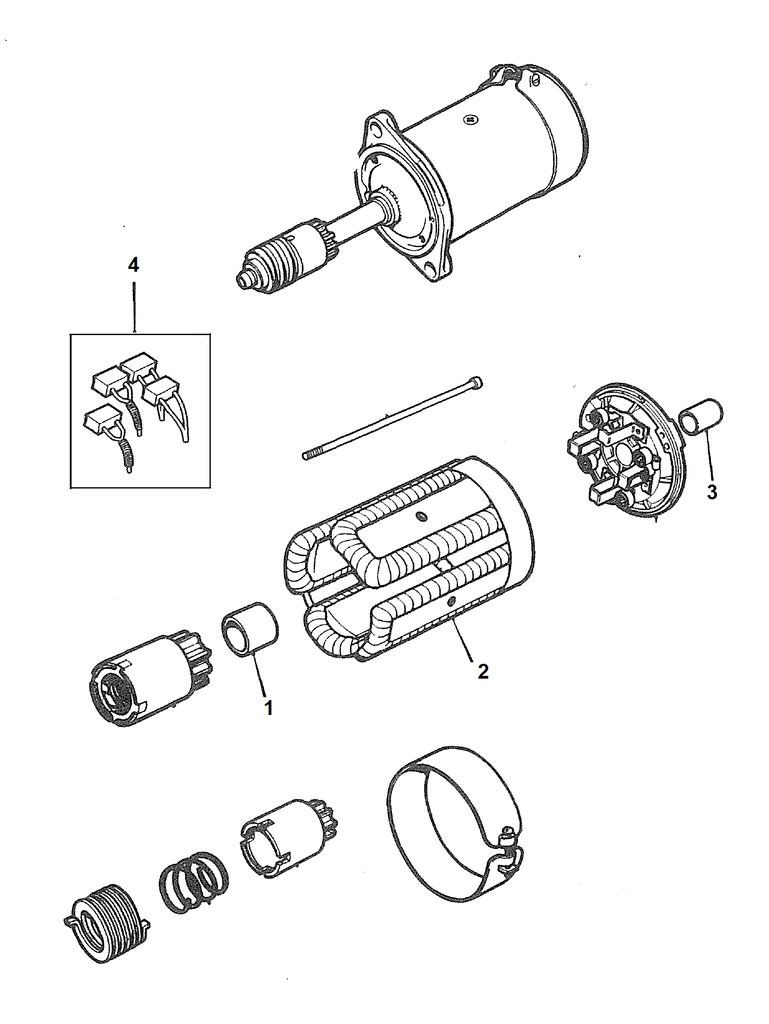 hight resolution of mgb starter 1962 to 1967