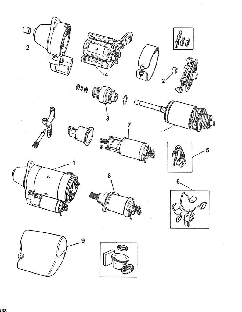 medium resolution of  mgb starter 1968 to 1980 abingdon spares on vw bus wiring diagram mgb alternator