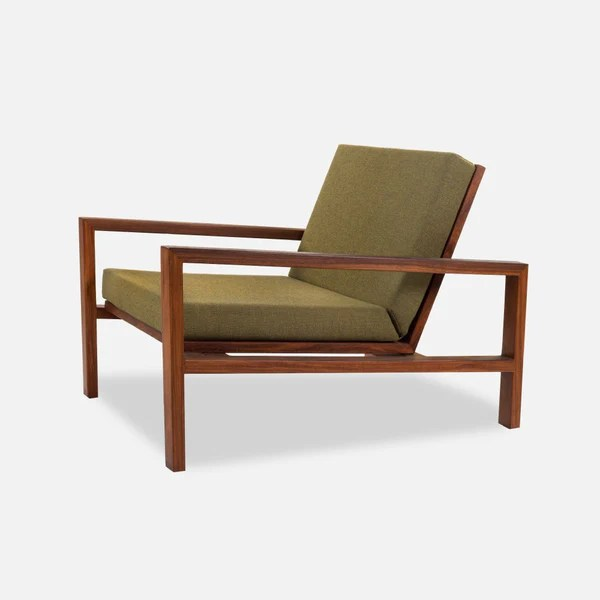 solid wood chairs gaming floor chair case study furniture lounge upholstered modernica inc