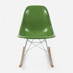 Eames Fiberglass Chair Knoll Rocking Chairs Modernica Inc Maple Rocker Zinc Wire Huf