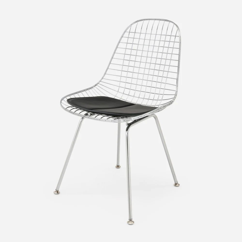 black wire chair porch table and chairs case study furniture h base modernica inc