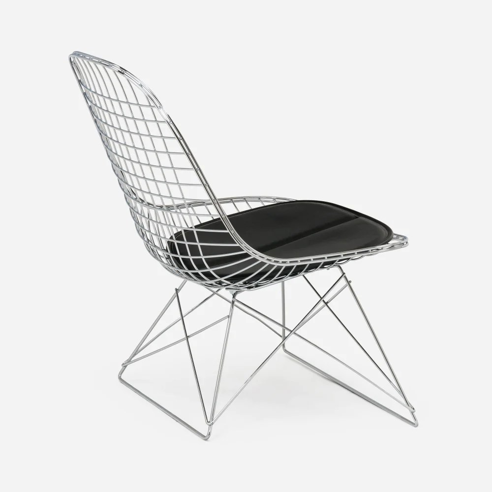 black wire chair media room chairs case study furniture low rod modernica inc