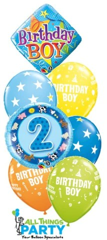 2nd birthday boy star