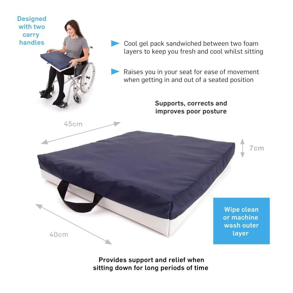 Wheel Chair Cushion 66fit Sitting And Wheel Chair Cushion Gel