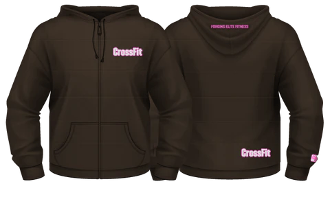 Women's Cocoa Heather Hooded Jacket
