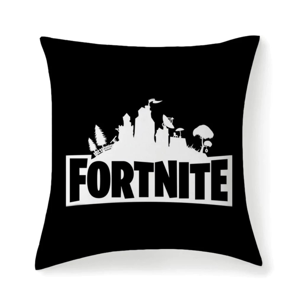 fortnite battle royale throw square pillow covers high elastic polypro micustom