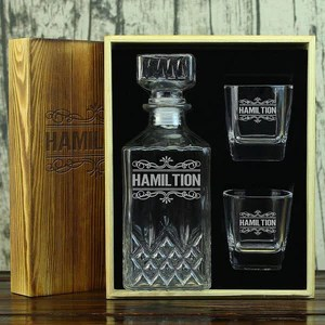 personalized decanter set cool