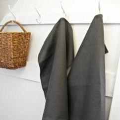 Gray Kitchen Towels Miele Appliances Towel Linen Tea Hand 18 Wide X 27 Long