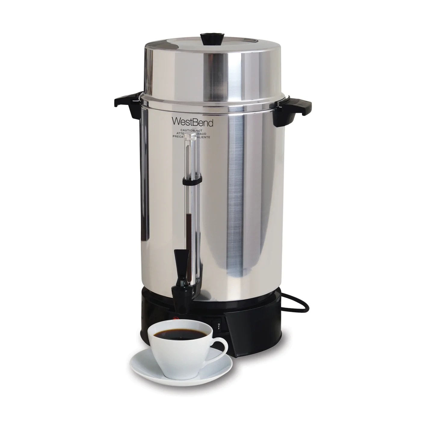 33600 - 100 Cup Commercial Urn Coffee Makers Beverages West Bend