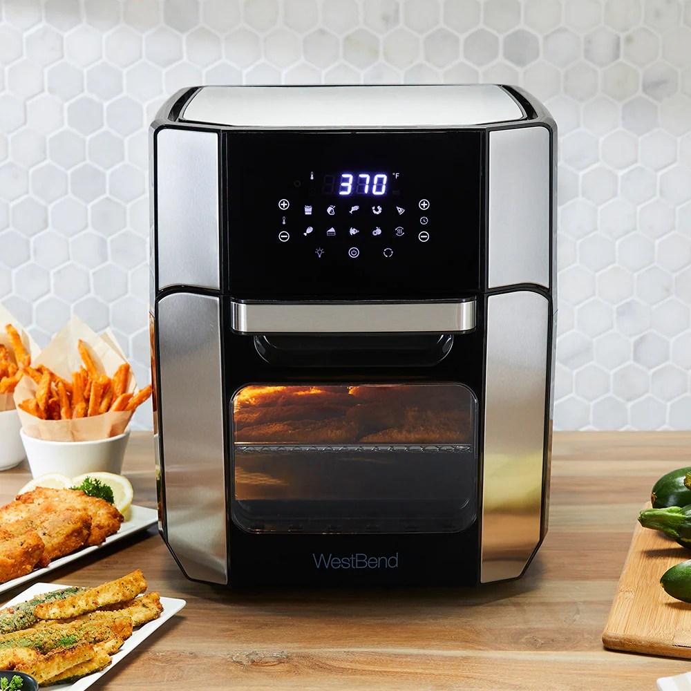 12 6 qt xl digital air fryer oven