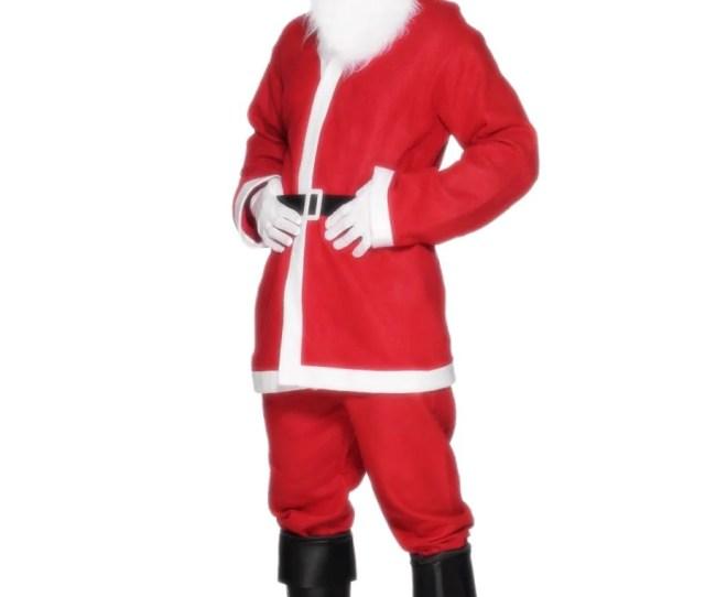 Christmas Costume Ideas  C B Santa Suit Costume
