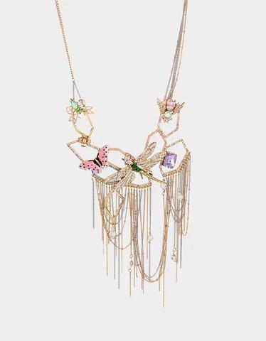 Betsey Johnson Jewelry Clearance : betsey, johnson, jewelry, clearance, INSECT, NECKLACE, MULTI, Betsey, Johnson