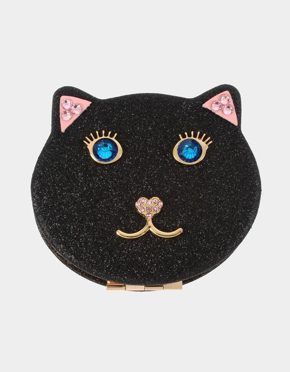 Holiday 2019 Black Cat Compact Betsey Johnson