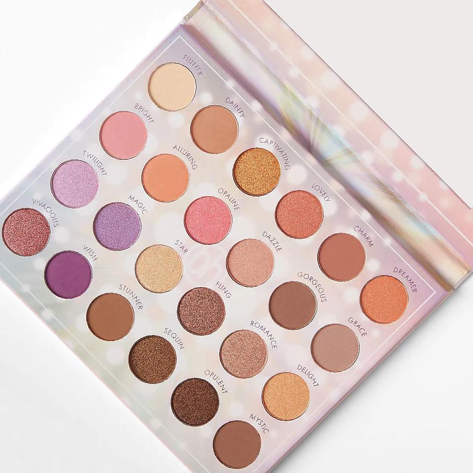 opalescent eyeshadow palette bh