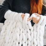 How To Make A Chunky Knit Blanket Diy Guide For Beginners Woolartdesign