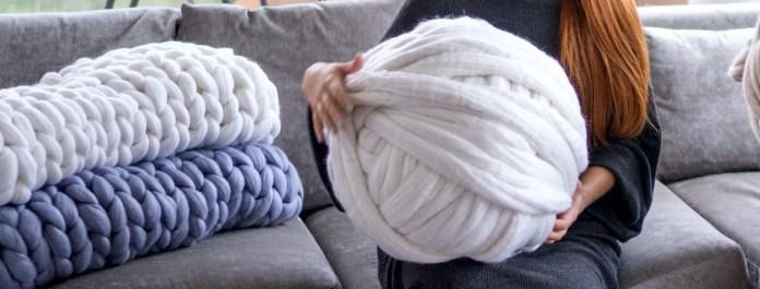 How Much Yarn Do You Need For Chunky Blanket Woolartdesign