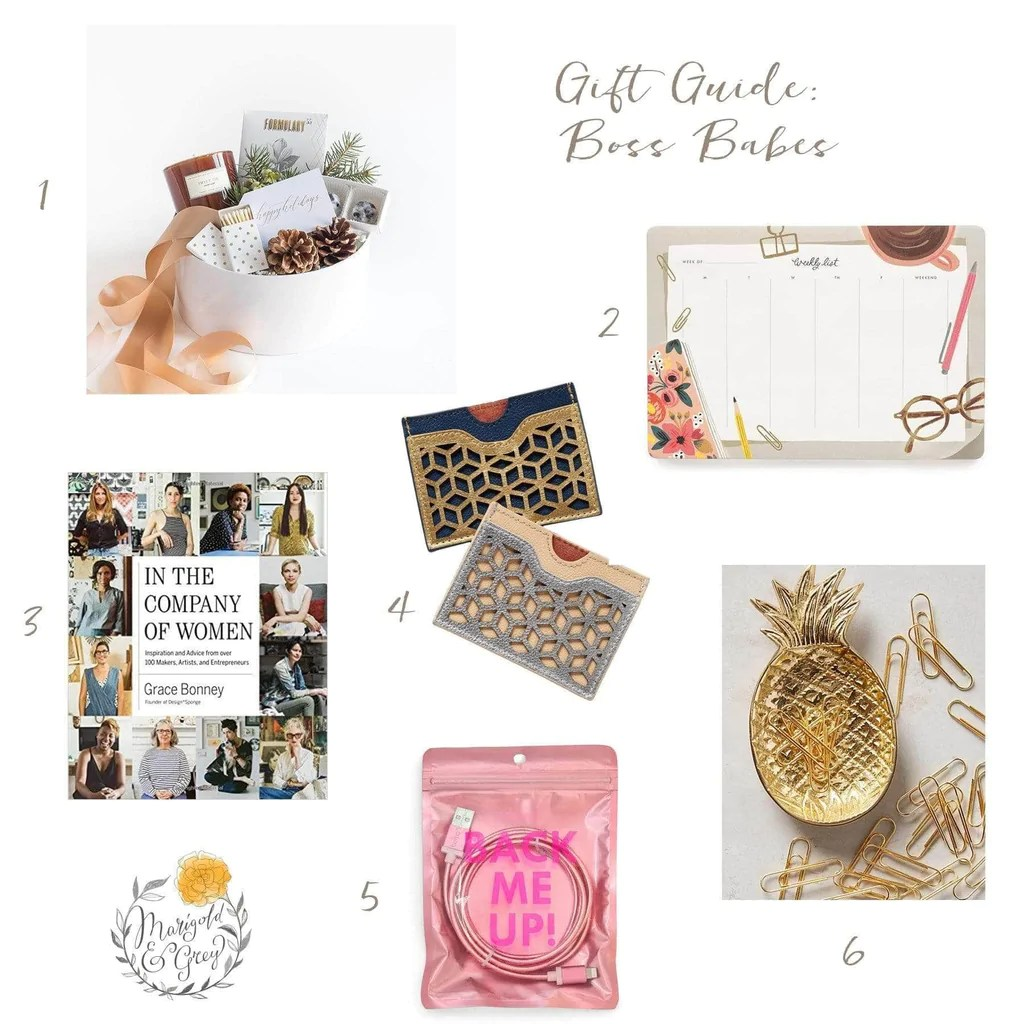 Gift Ideas For Boss Babes Holiday Gift Guide