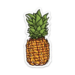 The Pineapple Sticker blank tag co