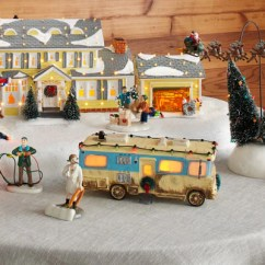 Christmas Chair Back Covers Ireland Walmart Rocking Chairs Department 56 Official Site For Villages Snowbabies Based On The Classic Holiday Movie Shop Vacation