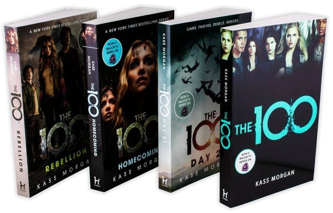 The 100 4 Book Collection - Young Adult - Paperback - Kass Morgan — Books2Door