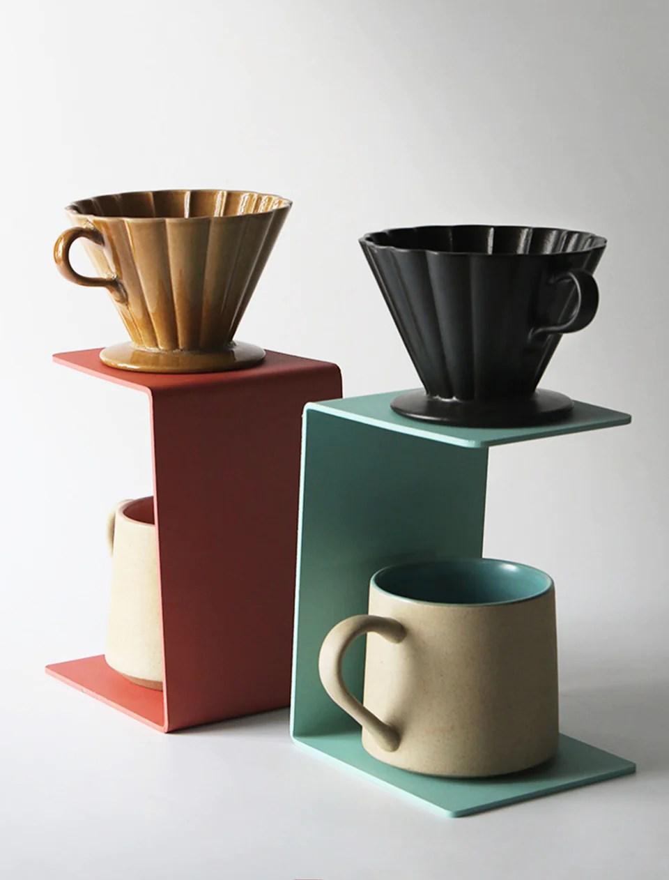 handmade modern pour over