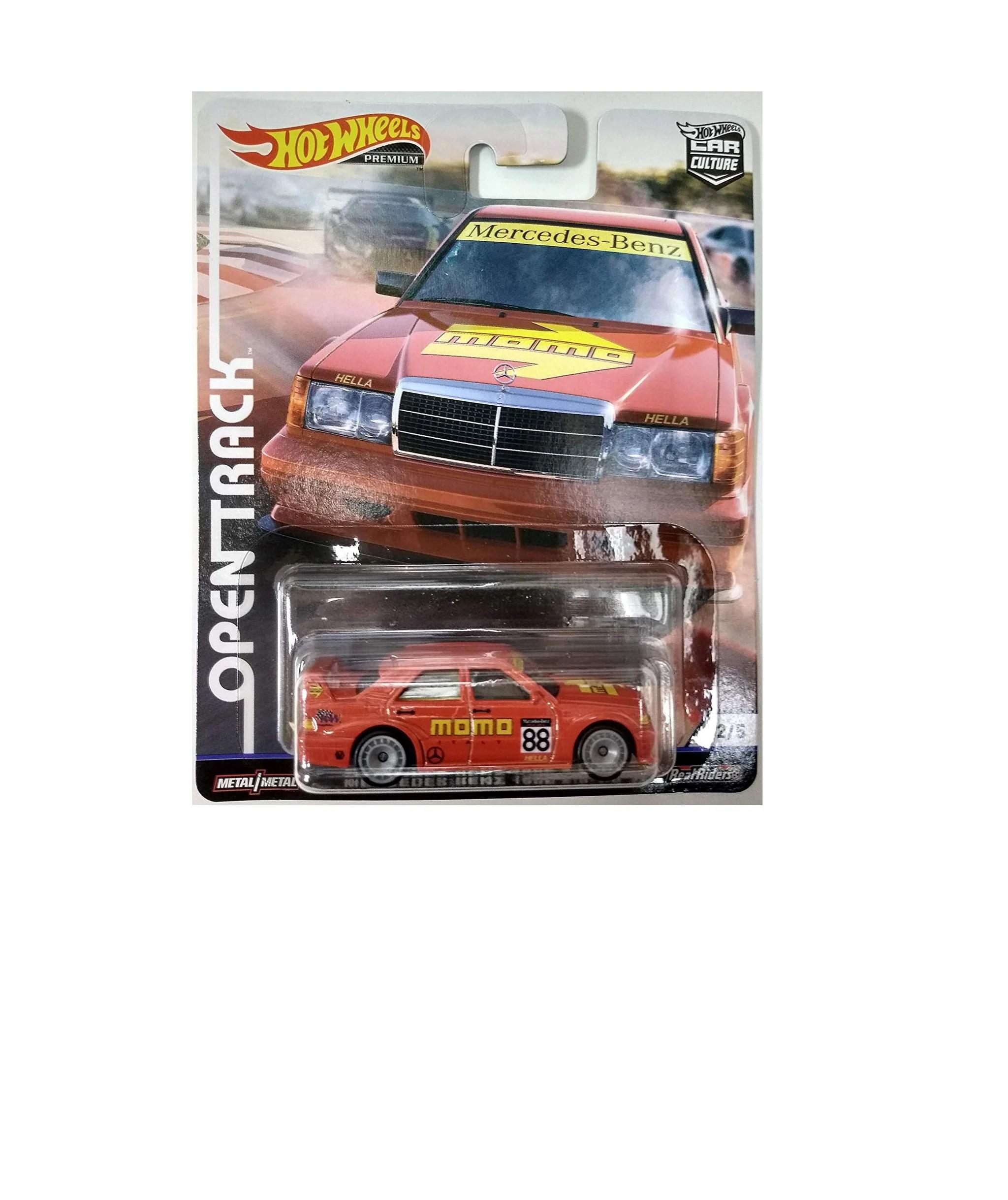 small resolution of mercedes benz 190e car culture premium open track 2 5 hot wheels fpy86 956h