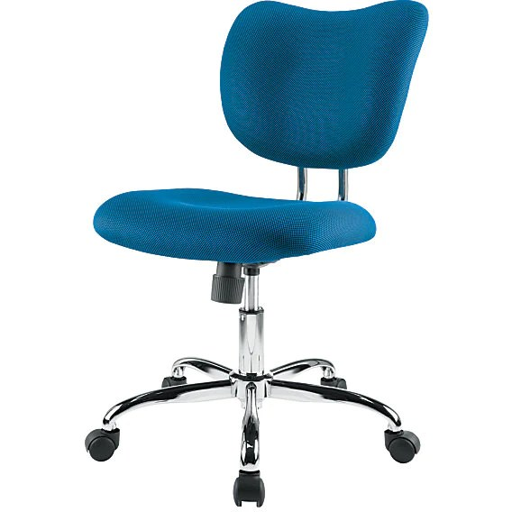 brenton studio task chair banquet chairs canada outlet low back mesh blue chrome 847625