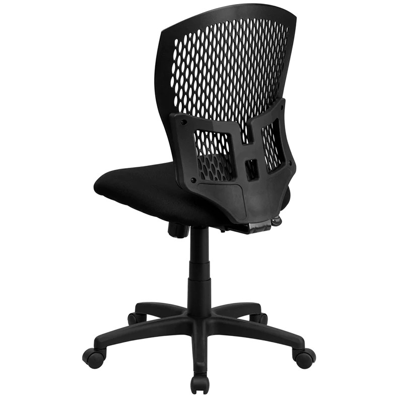 chair design back angle metal frame chairs with arms mid designer swivel task fabric seat office