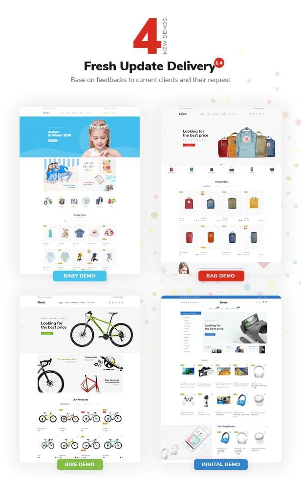 Elessi - Responsive Shopify Theme - 3