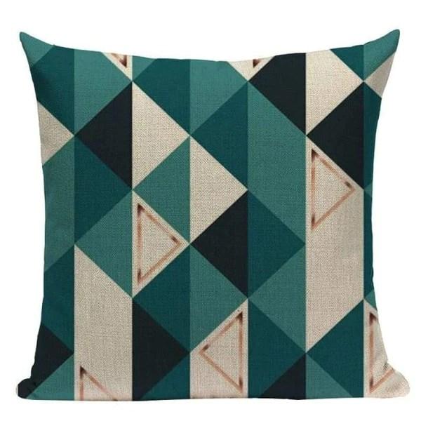 dark teal blue cushion covers